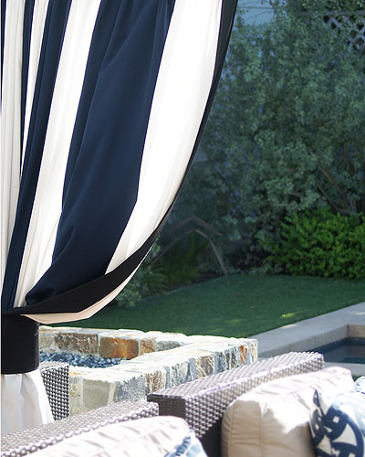 Outdoor Curtains and Drapery